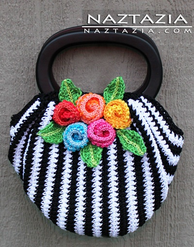 Crochet Swag Bag Purse