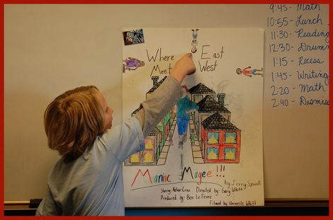 maniac magee book report school Maniac magee comprehension questions why would maniac not go to school what was the name of the book maniac gave grayson for christmas a.