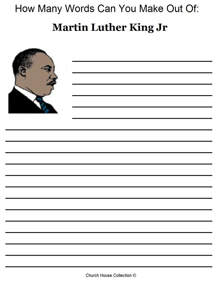 what words can you make out of the letters free martin luther king jr worksheets how many words can 698