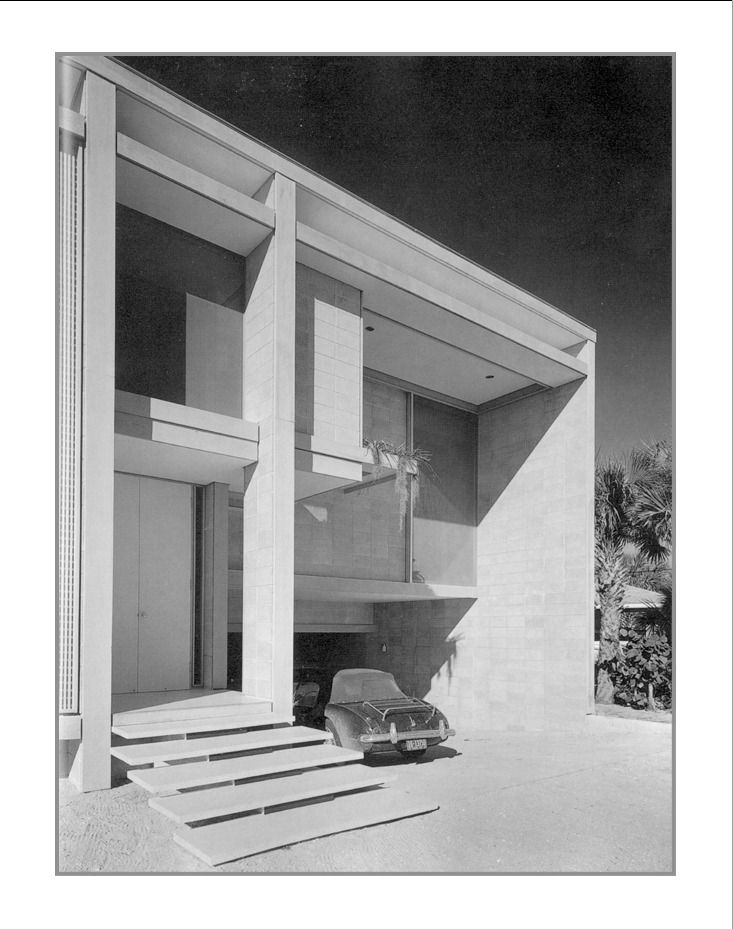 Paul Rudolph | The Frederick Deering House | Casey Key FL | 1956