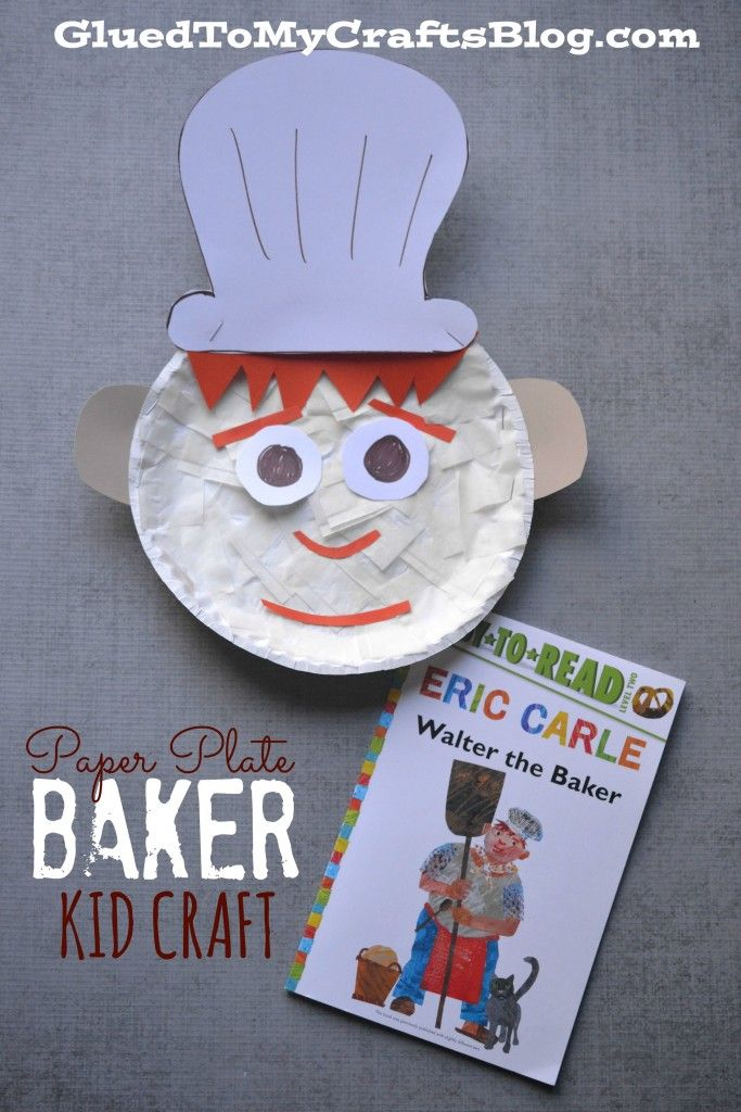 Paper Plate Baker {Kid Craft}