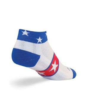 SockGuy USA Channel Air Socks  Land of the Free! $11.95
