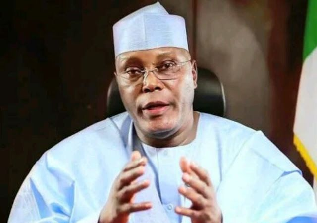 Ex-Vice President Atiku Abubakar has taken a swipe at the news of Nigeria's exit of the recession, saying until every Nigerian can eat three...