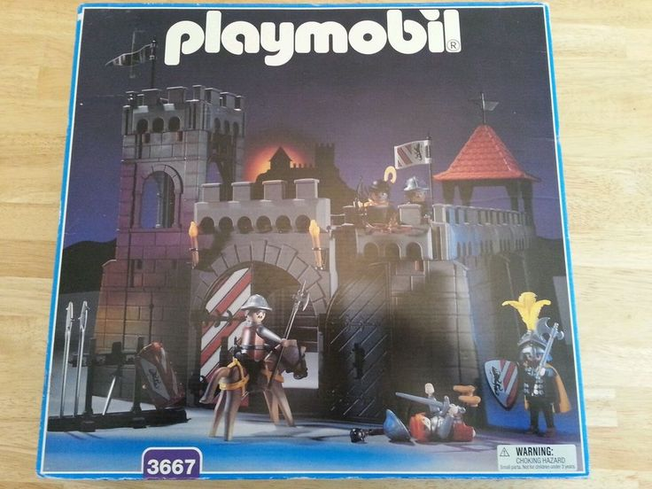 Playmobil medievel Knights Playset 3667 New MIB deadstock Castle HTF New REDUCED in Playmobil | eBay