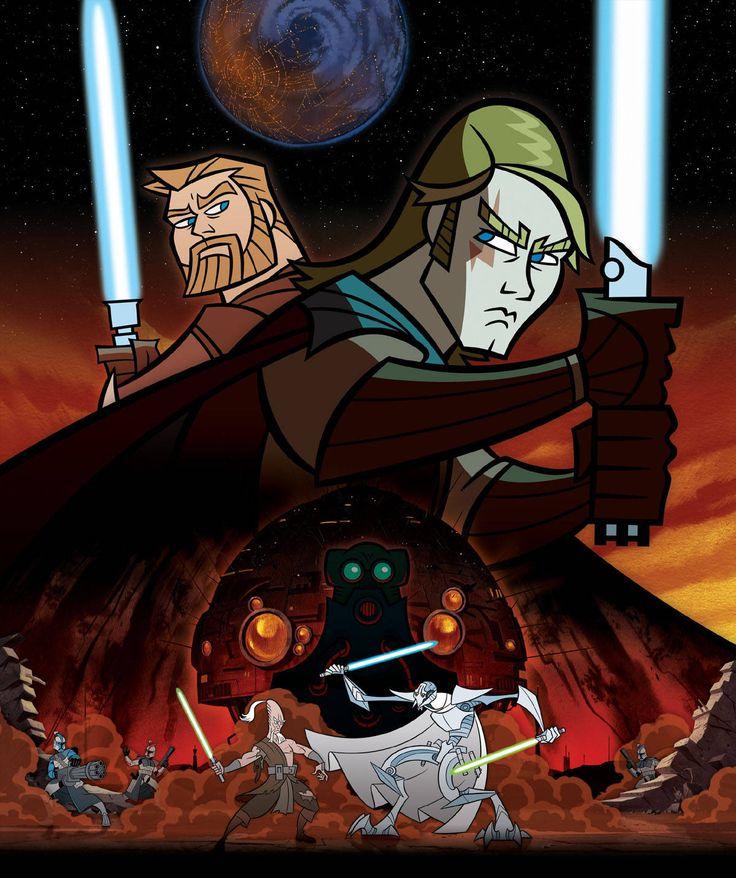 Star wars the clone wars anakin cartoon