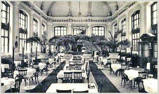 Nyugati Pályaudvar Étterme (restije) - 1890-es évek Resti = Restaurant (Étterem) régies becézése magestore1.blogger.hu