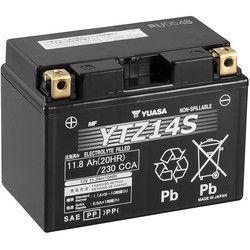 Découvrez notre Batterie TTZ14-S - AGM pour la moto par Dafy-Moto, vente en ligne de Batterie Moto :  Batterie Yuasa TTZ14-S - AGM   Sans entretien