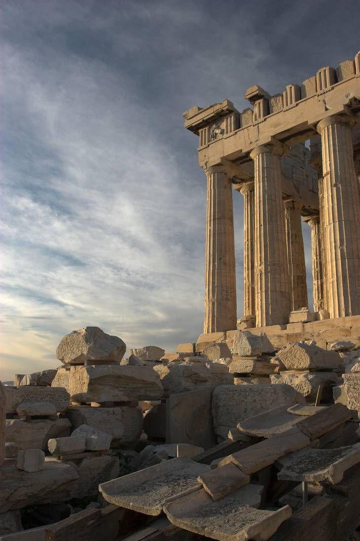 Parthenon Temple - Athens Greece