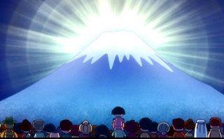 富士山バンザイ ちびまる子ちゃん