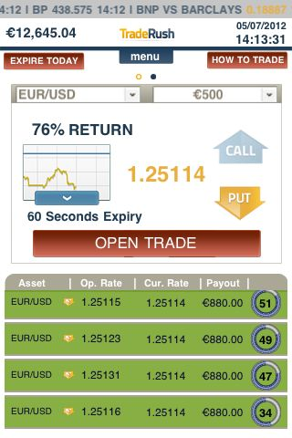 How to compound binary option account