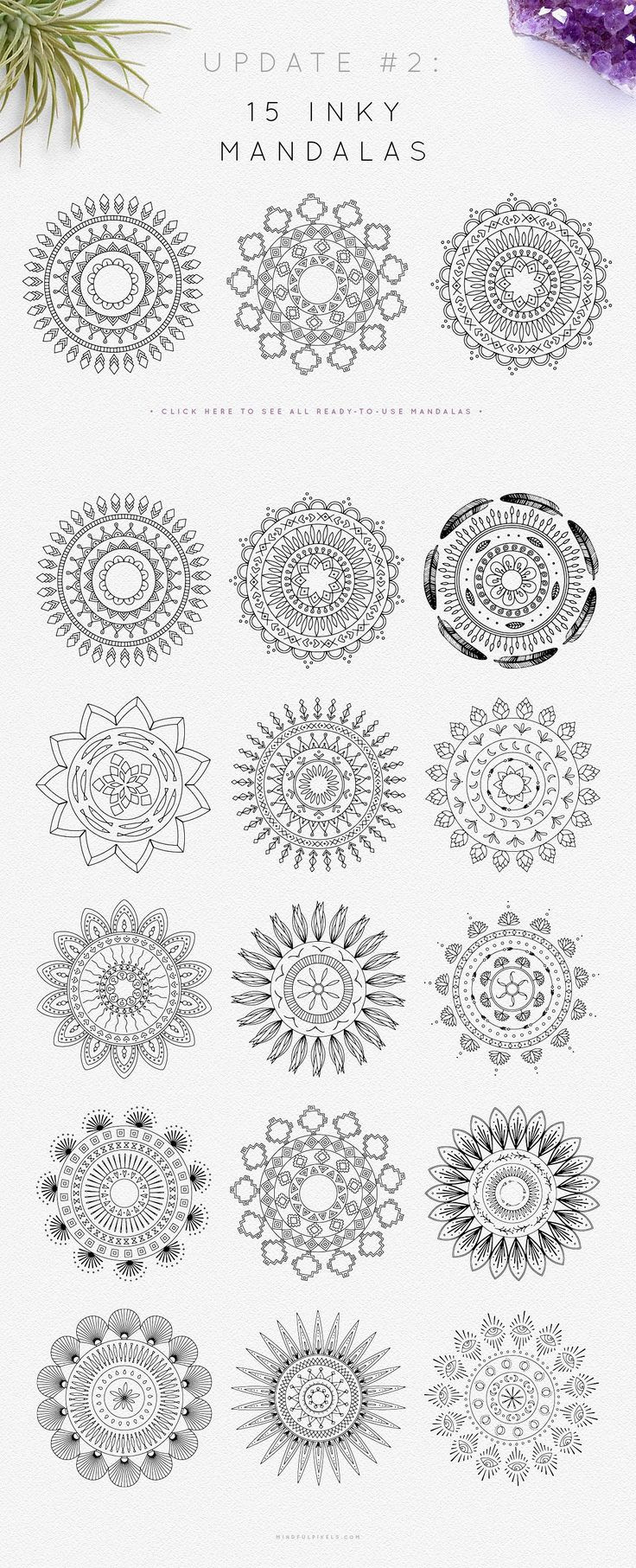 Mandala Logo Creator by Mindful Pixels on Creative…