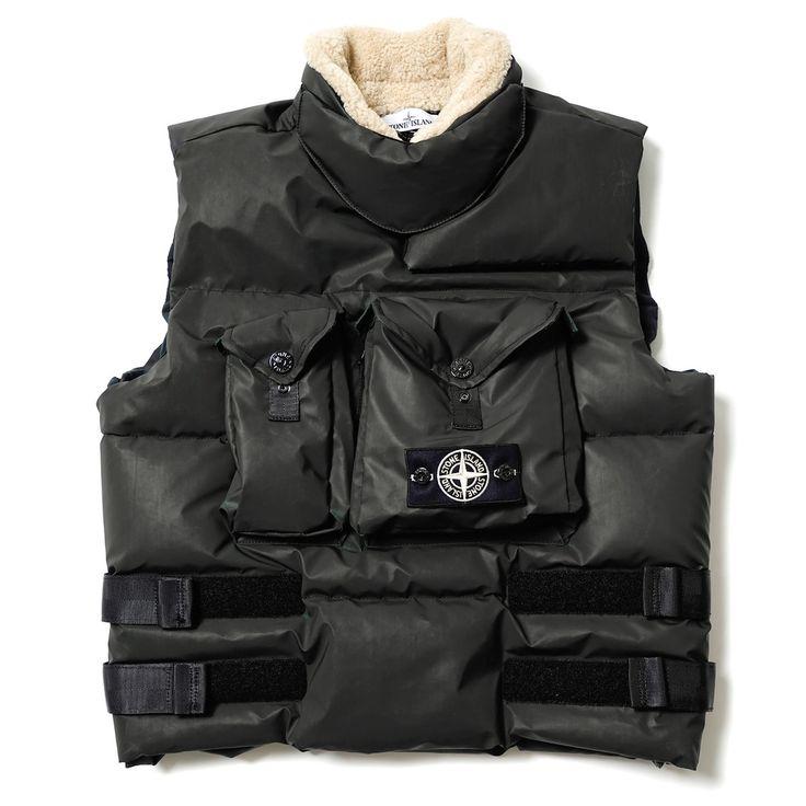 Stone Island winter vest // http://www.99wtf.net/men/mens-fasion/latest-mens-fashion-trends-2016/