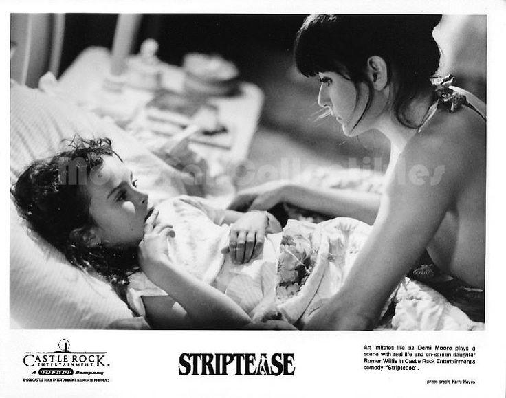 Demi Moore and Rumer Willis - Striptease (1996)