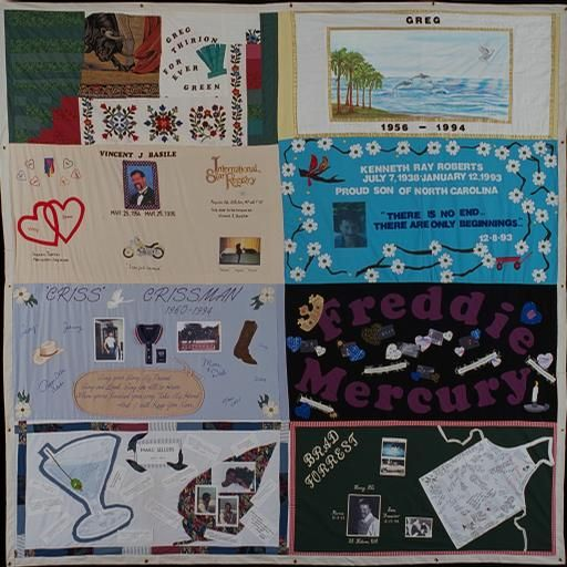 57 best AIDS Memorial Quilt images on Pinterest | Lgbt history ... : names project quilt panels - Adamdwight.com