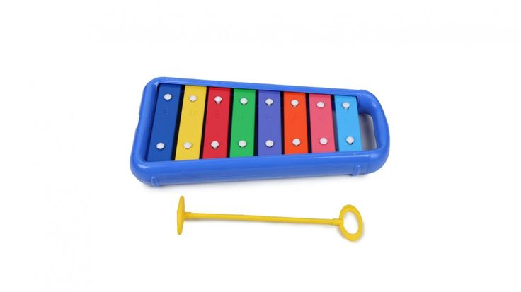 The Halilit Baby Xylophone is the little xylophone for babies and big kids too!