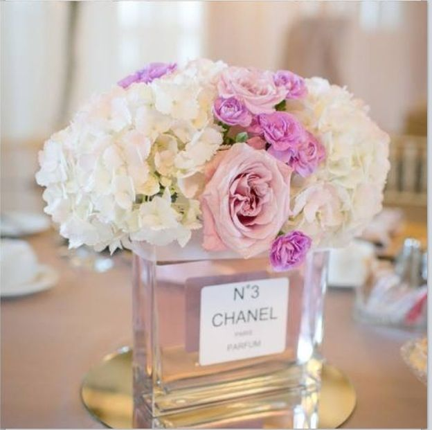 Chanel Diy Roses Flowers Home Decor