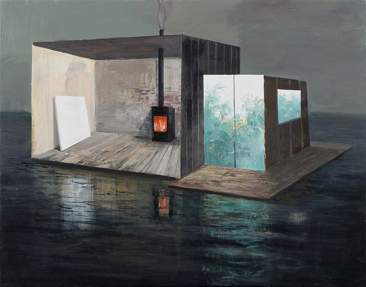 Jeremy Miranda - Houseboat - detail