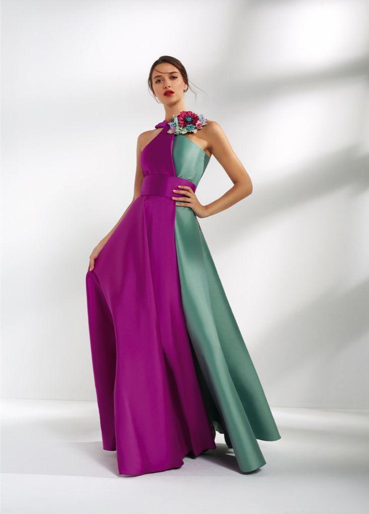 Mejores 11 imágenes de Vestidos fiesta en Pinterest   Damas de honor ...