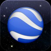 Google Earth App: Fly around the planet with a swipe of your finger with Google Earth for iPhone, iPad, and iPod touch.