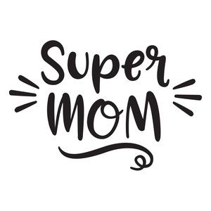 Silhouette Design Store: super mom
