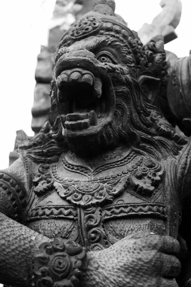 Hanuman statue Bali