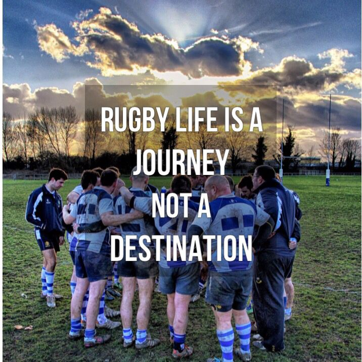 Rugby Life Is A Journey! Pic By twitter.com/LewisOuting