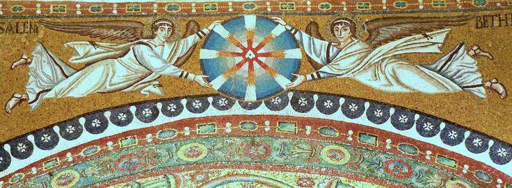 Basilica di San Vitale, Ravenna. I Mosaici bizantini, 546-547. Il periodo di Giustiniano.