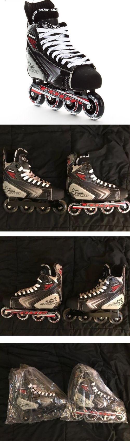 Roller Hockey 64669: New In Box Tour Thor 909 Code Roller Hockey Skates Blades Inline Skates Mens 6 -> BUY IT NOW ONLY: $84.95 on eBay!