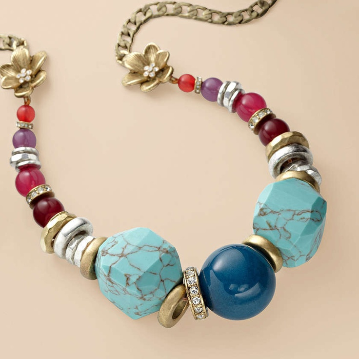 FOSSIL® Jewelry Necklaces:Women Global Nomad Necklace JA5562