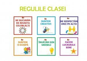 regulile clasei - regulile grupei