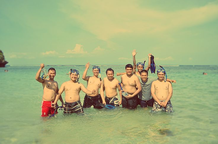 SEA BOOTY HUNT #Lunch #Dinner #Activity - The Pirates Bay Nusa Dua Bali l Indonesia
