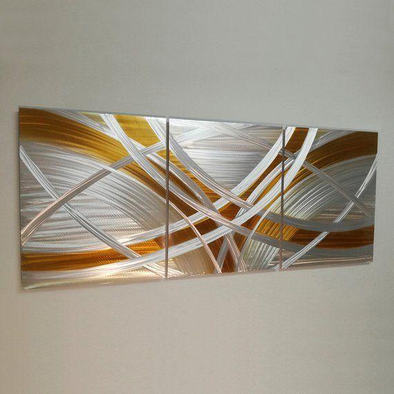 Modern Metallic Wall Art