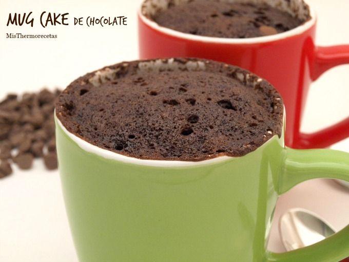 Mug Cake de chocolate - MisThermorecetas