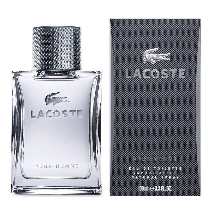 Lacoste Pour Homme Men's Cologne - Eau de Toilette, Multicolor