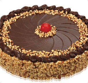 Baskin-Robbins | Fudge Nut Round Cake... favorite ice cream cake