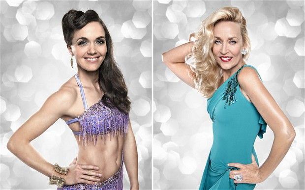 Olympian Victoria Pendleton (left) and model Jerry Hall are two of this year's Strictly Come Dancing contestants