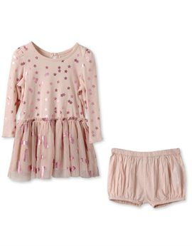 STELLA MCCARTNEY KIDS Baby Girl Pink Tulle Party Dress with Bloomers. Shop here: http://www.tilltwelve.com/en/eur/product/1080089/STELLA-McCARTNEY-KIDS-Baby-Girl-Pink-Tulle-Party-Dress-with-Bloomers/