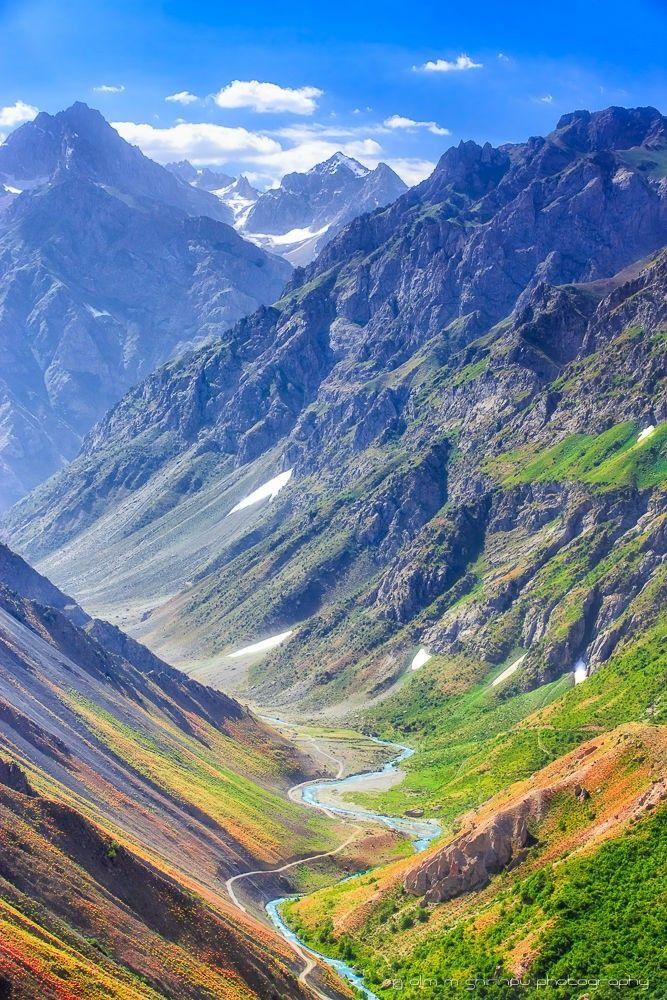 Tajikisthan Landscape