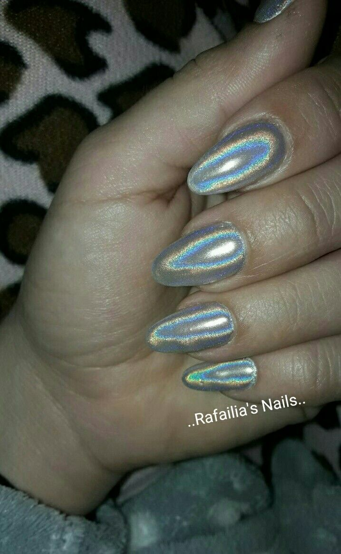#Shellac #Nails #Holo #Manix
