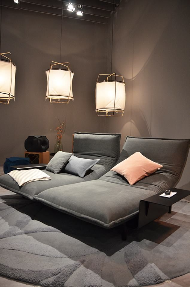 Rolf Benz | Nova #Grey #Color #Pastel #Interior #Inspiration #Kokwooncenter #201605