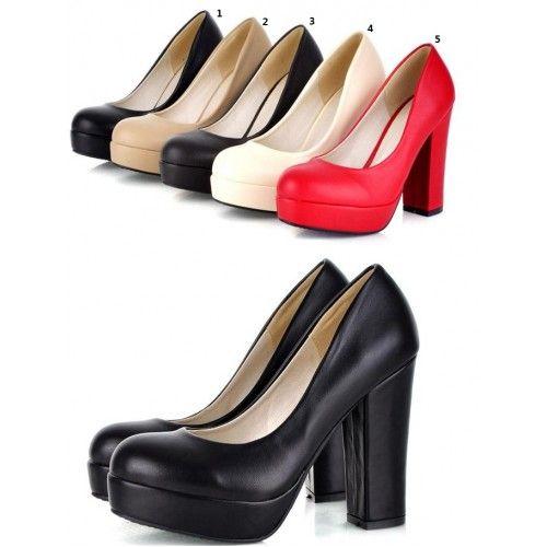 Piattaforma sexy delle donne delle pompe Tacchi Size 30 31 32 33 34-43 scarpe personalizzate