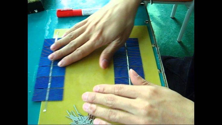 how to build a cheap solar panel, DIY solar panel for home-solar cells a...
