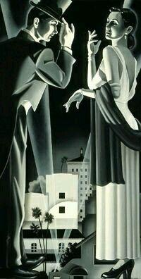 Art Deco Couple