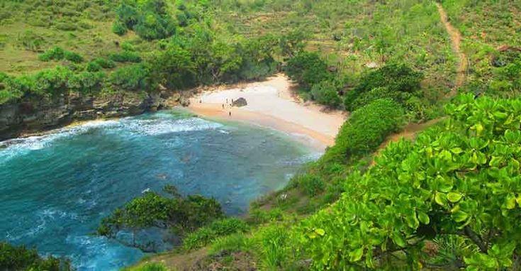 Pantai Ngetun Gunungkidul, Sangat Bersih dan Alami   Jogja.CO