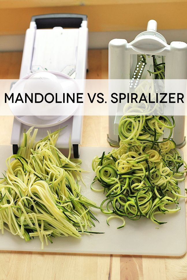 How To Make Zucchini Pasta With a Mandoline Slicer - In Sonnet's Kitchen