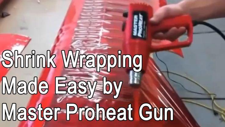 Shrink Wrapping Using Master Proheat Varitmp Heat Gun PH - 2200