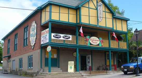 The Village Playhouse in Bancroft Ontario