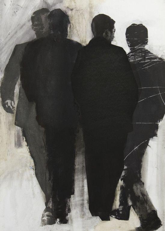 Artwork Paraphrase Of The Crowd by Pawel Kwiatkowski