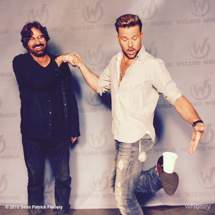 """Sean Patrick Flanery's image - """"I get by... with a little help from my friends. #ShineUntilTomorrow"""" on WhoSay"""