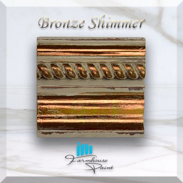 Metallic Shimmer Colors | Farmhouse Paint